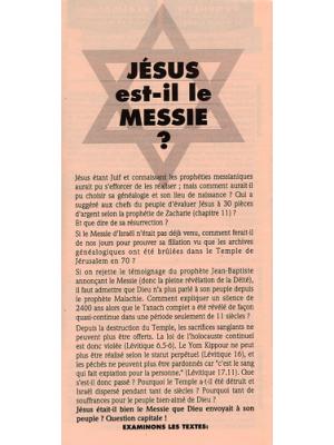 Jésus est-il le Messie ?