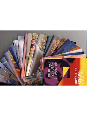 Simples réponses bibliques, 34 brochures 10x15, français
