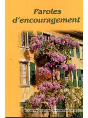 Paroles d'encouragement