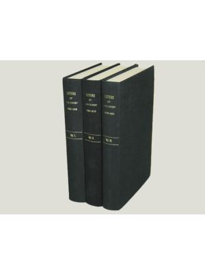 Lettres de J.N.D. relié 3 volumes