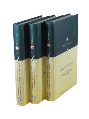Articles sur différents sujets (3 volumes)